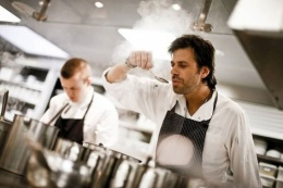 Sergio Herman opens restaurant 'The Jane' in Antwerp.